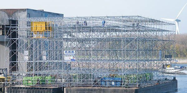 Steigerconstructies - ESS Scaffolding BV